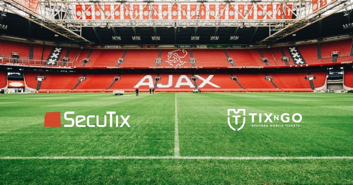 Ajax appoints SecuTix & TIXnGO as new Ticketing Technology Partners